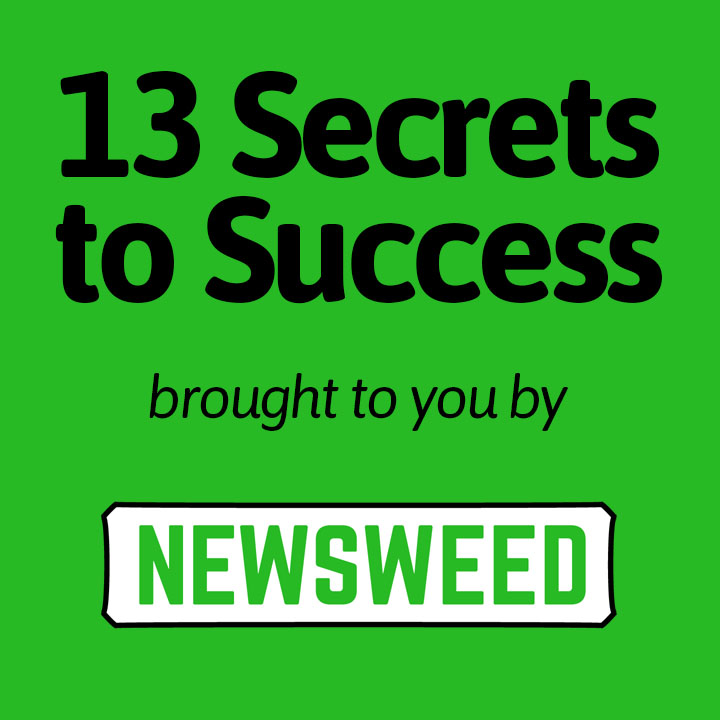 13 Secrets to Success