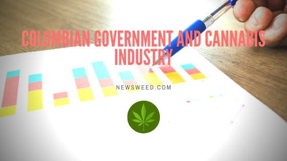Colombia government and cannabis industry