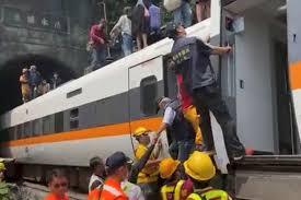 50+ Fatalities as Taiwan Train Derails During Rush Hour