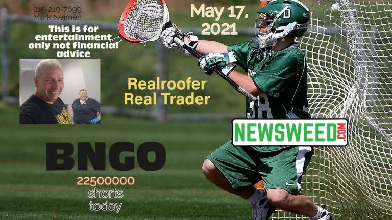 BNGO Stock – May 17, 2021